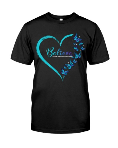 Believe Suicide Prevention Awareness