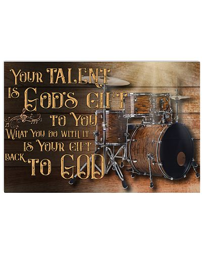 Drummer - Your talent is Gods gift