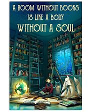 A Room Without Books Is Like A Body Without A Soul 11x17 Poster front