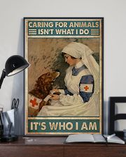 Veterinarian Caring For Animals It's Who I Am 11x17 Poster lifestyle-poster-2