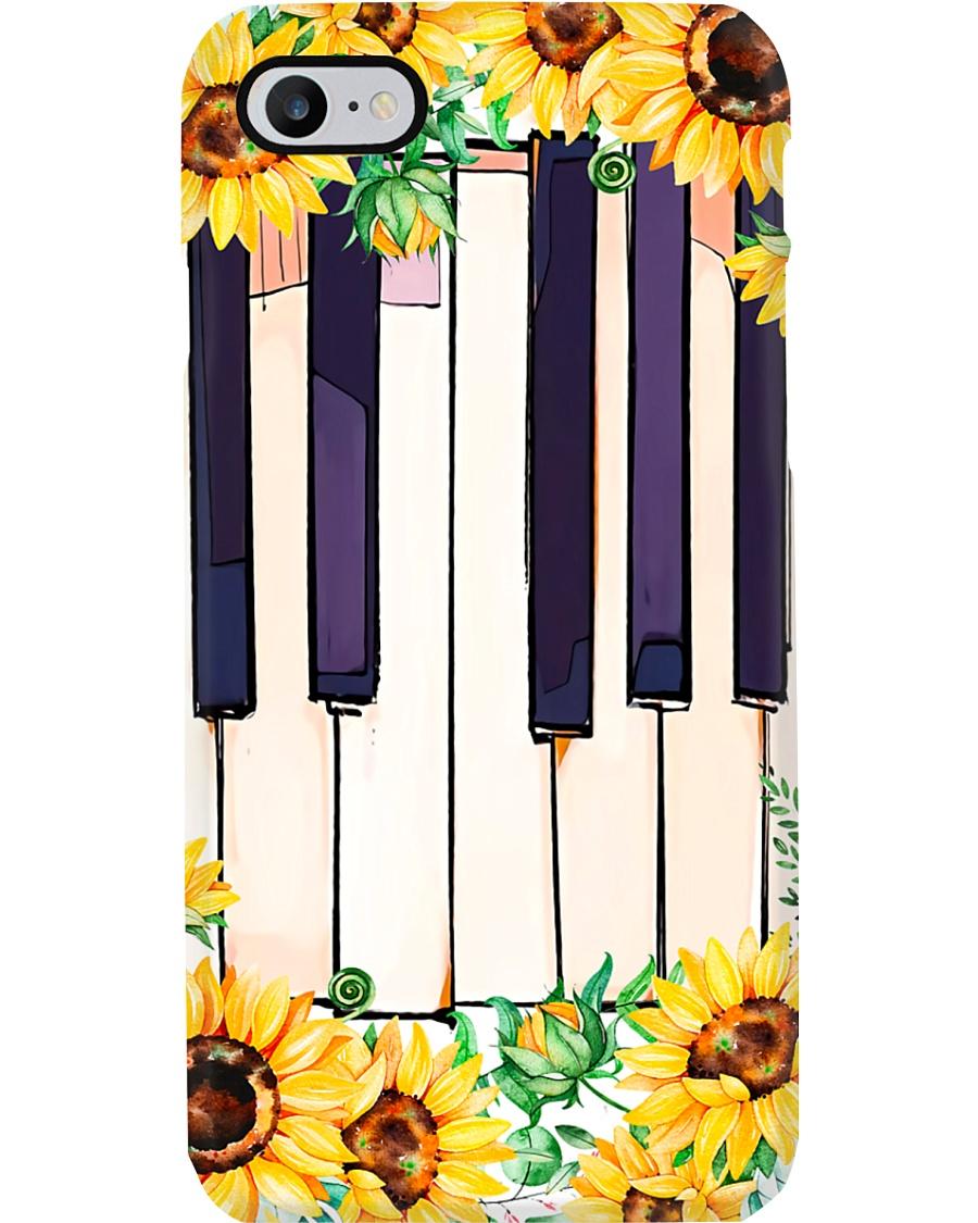 Pianist Sunflower Piano Phone Case