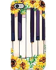 Pianist Sunflower Piano Phone Case i-phone-7-case