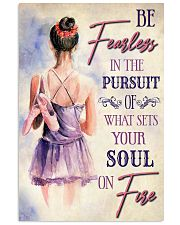 Ballet What Sets Your Soul On Fire 11x17 Poster front
