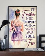 Ballet What Sets Your Soul On Fire 11x17 Poster lifestyle-poster-2