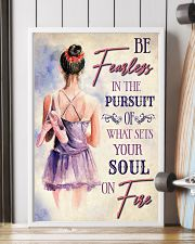 Ballet What Sets Your Soul On Fire 11x17 Poster lifestyle-poster-4