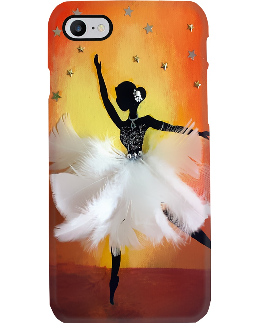 Ballet Girl Feather Dress Phone Case