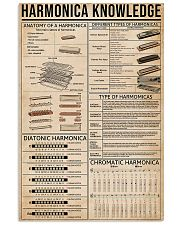 Harmonica Knowledge 11x17 Poster front