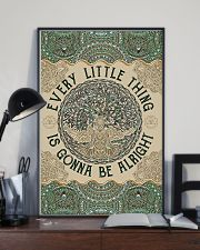 Yoga - Every Little Thing Is Gonna Be Alright 11x17 Poster lifestyle-poster-2