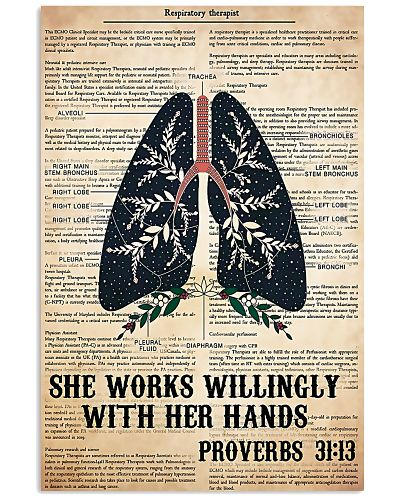 Respiratory Therapist She Works Willingly