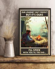 Camping Our Journey 11x17 Poster lifestyle-poster-3