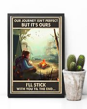 Camping Our Journey 11x17 Poster lifestyle-poster-8