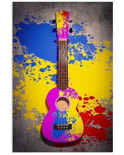 Ukulele Colorful Image