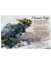 A Firefighters Prayer 17x11 Poster front