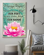 Massage Therapist We Heal Others Through Our Hands 11x17 Poster lifestyle-poster-1