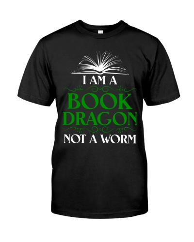 I'm A Book Dragon Book Lover Funny
