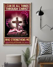 Breast Cancer I Can Do All Things 11x17 Poster lifestyle-poster-1