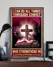 Breast Cancer I Can Do All Things 11x17 Poster lifestyle-poster-2