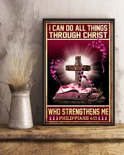 Breast Cancer I Can Do All Things 11x17 Poster lifestyle-poster-3