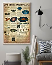 Science Gravitational Wave Knowledge Poster 11x17 Poster lifestyle-poster-1