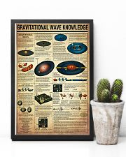 Science Gravitational Wave Knowledge Poster 11x17 Poster lifestyle-poster-8