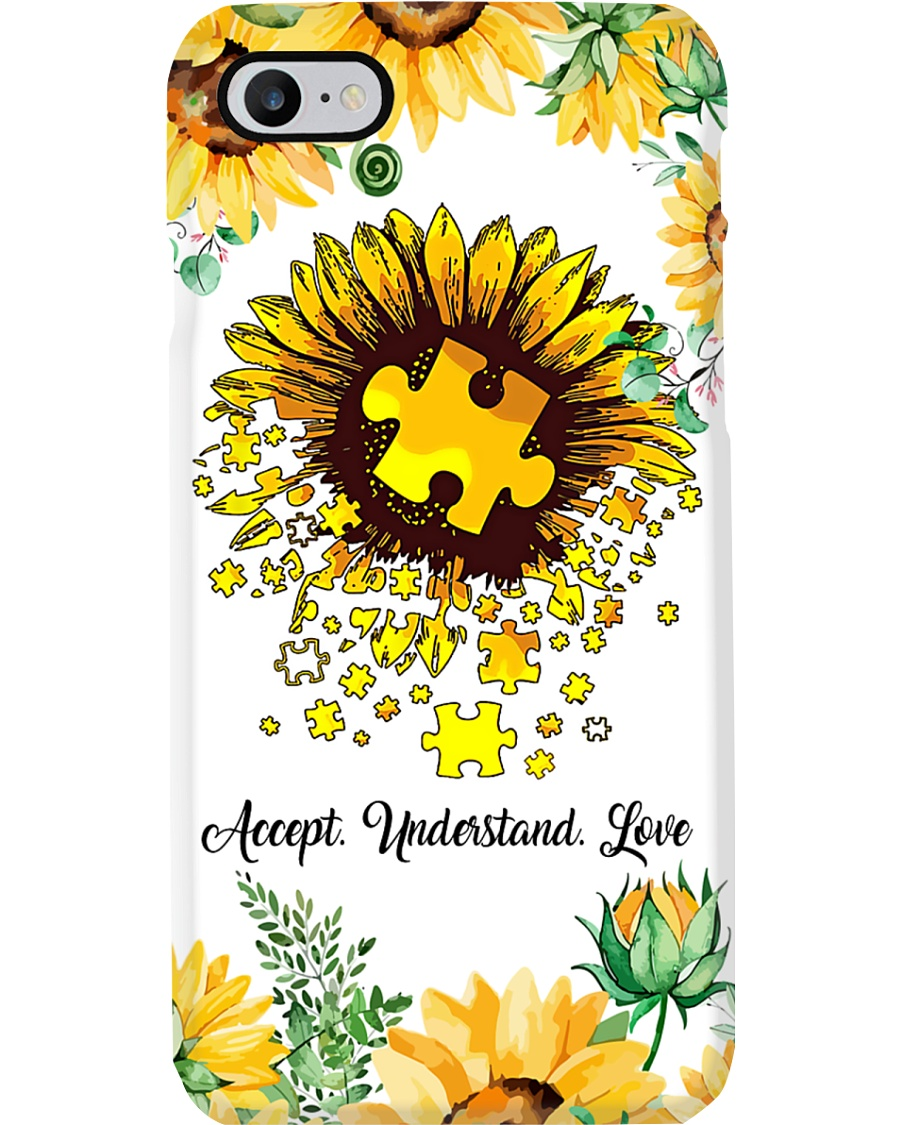 Autism Sun Flower Phone Case