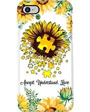Autism Sun Flower Phone Case i-phone-7-case