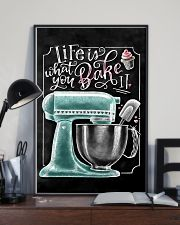 Baker Life Is What You Bake It 11x17 Poster lifestyle-poster-2