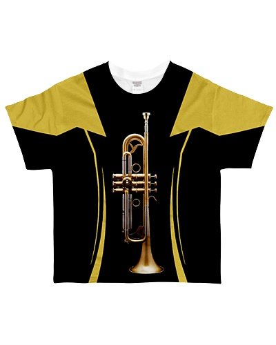 Trumpet Black And Yellow