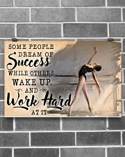 Ballet Wake Up And Work Hard  17x11 Poster poster-landscape-17x11-lifestyle-18