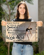 Ballet Wake Up And Work Hard  17x11 Poster poster-landscape-17x11-lifestyle-19