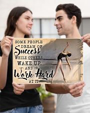Ballet Wake Up And Work Hard  17x11 Poster poster-landscape-17x11-lifestyle-20