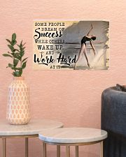 Ballet Wake Up And Work Hard  17x11 Poster poster-landscape-17x11-lifestyle-21