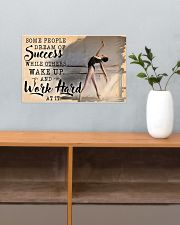 Ballet Wake Up And Work Hard  17x11 Poster poster-landscape-17x11-lifestyle-24