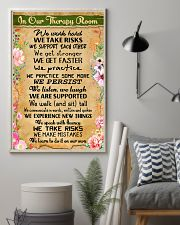 Occupational Therapist In Our Therapy Room 11x17 Poster lifestyle-poster-1