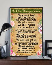 Occupational Therapist In Our Therapy Room 11x17 Poster lifestyle-poster-2