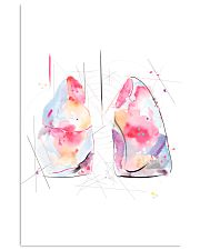 Respiratory Therapist Lung Anatomy 11x17 Poster front