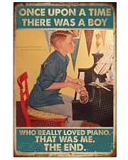 Pianist A Boy Who Really Loved Piano 11x17 Poster front