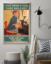 Pianist A Boy Who Really Loved Piano 11x17 Poster lifestyle-poster-1