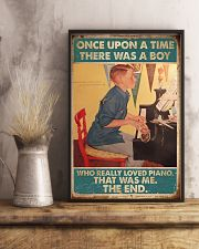 Pianist A Boy Who Really Loved Piano 11x17 Poster lifestyle-poster-3