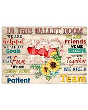 Ballet We Are A Team 17x11 Poster front