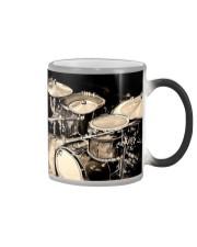 Drummer - Drum Set Artwork Color Changing Mug thumbnail