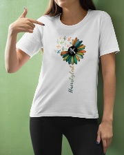 Hairstylist Colorful Tools Sunflower  Ladies T-Shirt apparel-ladies-t-shirt-lifestyle-front-10