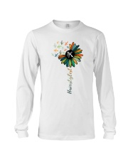 Hairstylist Colorful Tools Sunflower  Long Sleeve Tee thumbnail