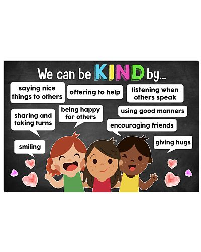 Teacher - We Can Be Kind Teacher