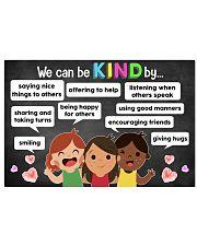 Teacher - We Can Be Kind Teacher 17x11 Poster front