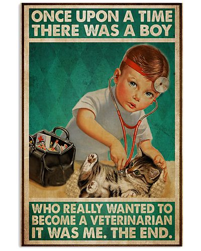 A Boy Who Really Wanted To Become A Veterinarian