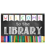 Librarian Welcome To The Library 17x11 Poster front