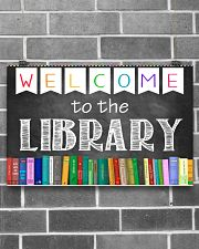 Librarian Welcome To The Library 17x11 Poster poster-landscape-17x11-lifestyle-18