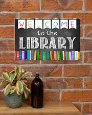 Librarian Welcome To The Library 17x11 Poster poster-landscape-17x11-lifestyle-23