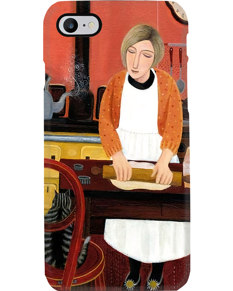 Baking Lady Phone Case